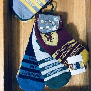 Harry Potter House Socks 4 Pairs